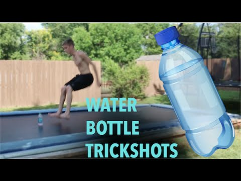 Thumbnail: MOST INSANE WATER BOTTLE TRICKSHOTS EVER!
