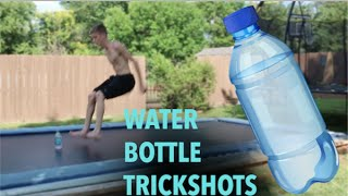 MOST INSANE WATER BOTTLE TRICKSHOTS EVER!