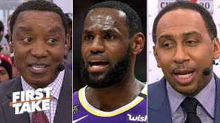 Download Are LeBron and Anthony Davis enough to get the Lakers to the NBA Finals? First Take debates Mp3 and Videos