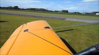 Engine Start and Take off in a Ryan PT-22