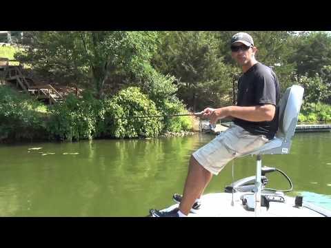 Fishing Retrieve - Twitching Technique