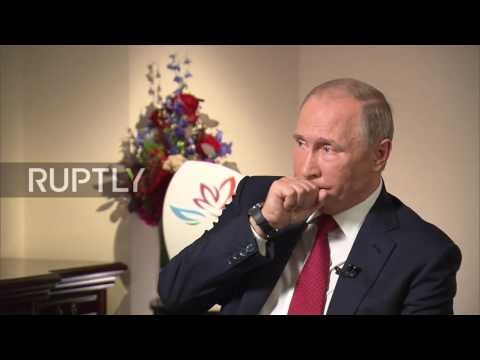 Russia: Putin talks Turkey relations; argues against regime change in Syria