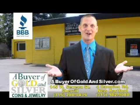 A Buyer Of Gold And Silver Coins and Jewelry