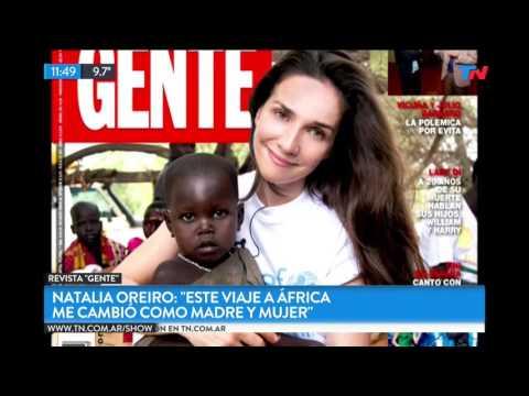 La Misión Solidaria De Natalia Oreiro En Kenia
