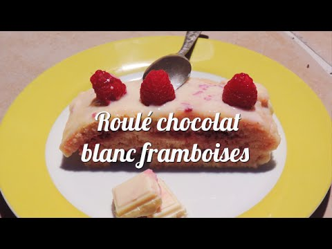 roulé-chocolat-blanc-framboises