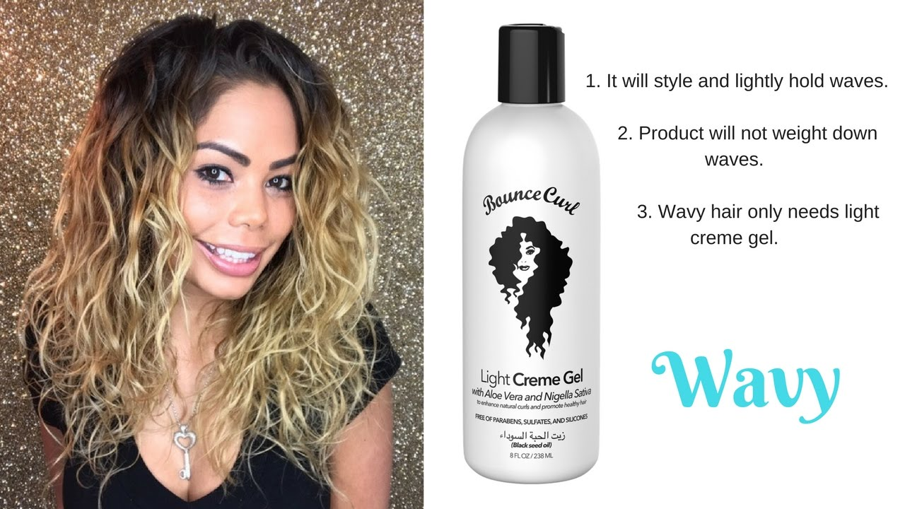 style your hair without gel how to style wavy hair bounce curl review 3248