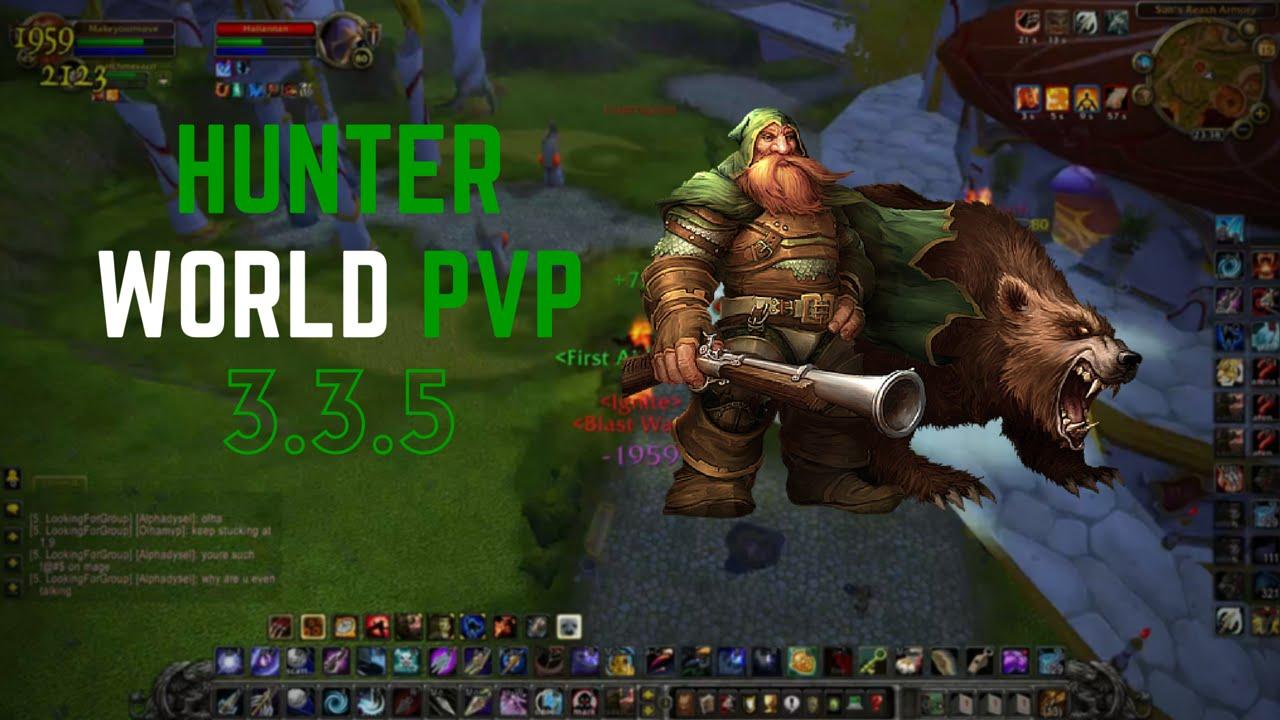 Hunter World PvP - 3 3 5 WoW (Warmane)