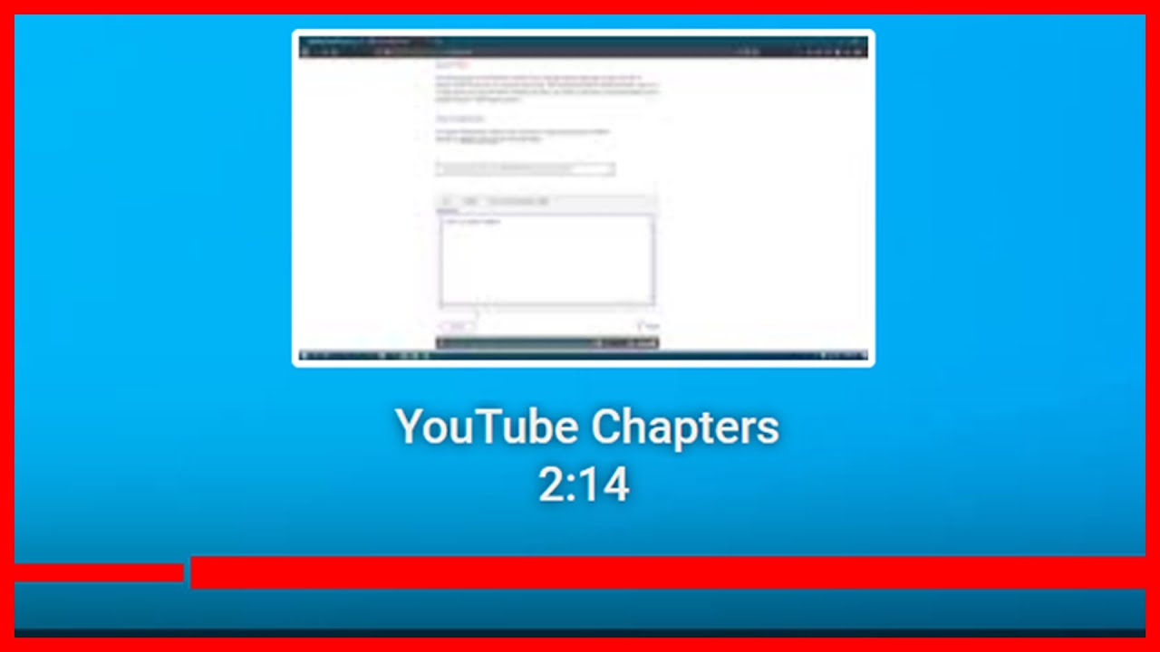 New YouTube Feature | How to add Chapter Timestamps to YouTube videos 2020