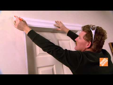 Home Depot: Comment Installer Des Moulures De Porte