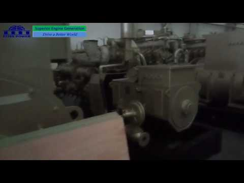 Ettes Power 1000kW 1MW Natural Gas Biogas Methane Engine Generator Generation 16V190ZLT to Africa Et
