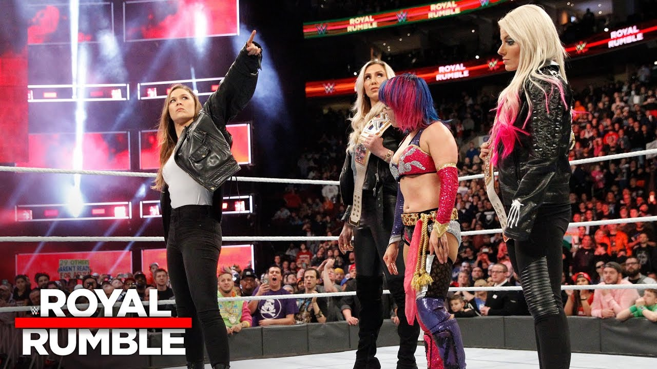 Image result for rousey royal rumble
