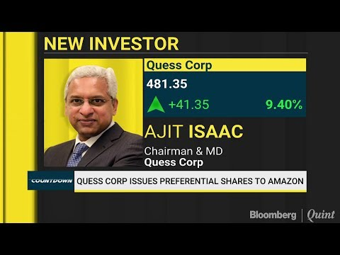 Quess Corp Finds An Investor In Amazon