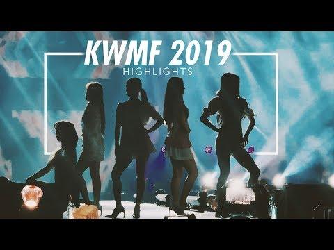 K-Pop World  Festival KWMF 2019 Highlights  I FINALLY MET RED VELVET 레드벨벳 ❤️