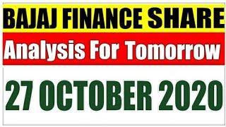 OCTOBER 27|Bajaj Finance Stock Analysis|Bajaj Finance Share|BAJAJ FINANCE SHARE LATEST NEWS|