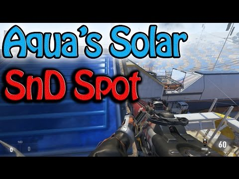How to Get in Aqua's Solar SnD Spot! - COD:AW