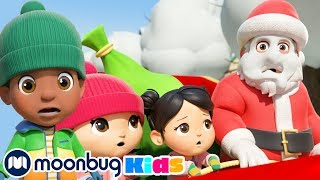 Дед Мороз в городе Детские мультики Детские песни Сборник мультиков Литл Бэйби Бам