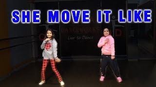She Move It Like Dance Choreography 2019 | Easy Dance Steps For Kids | Oorja Danceworks