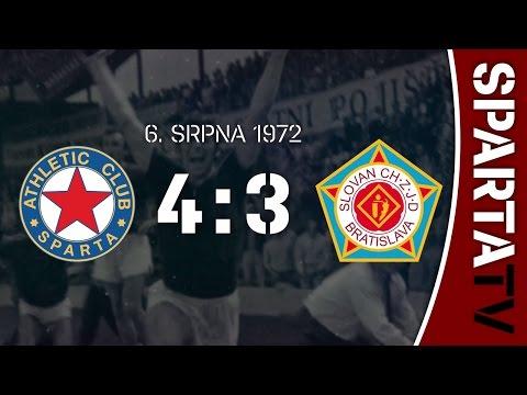 ZÁPAS STOLETÍ | Slovan Bratislava (1972)