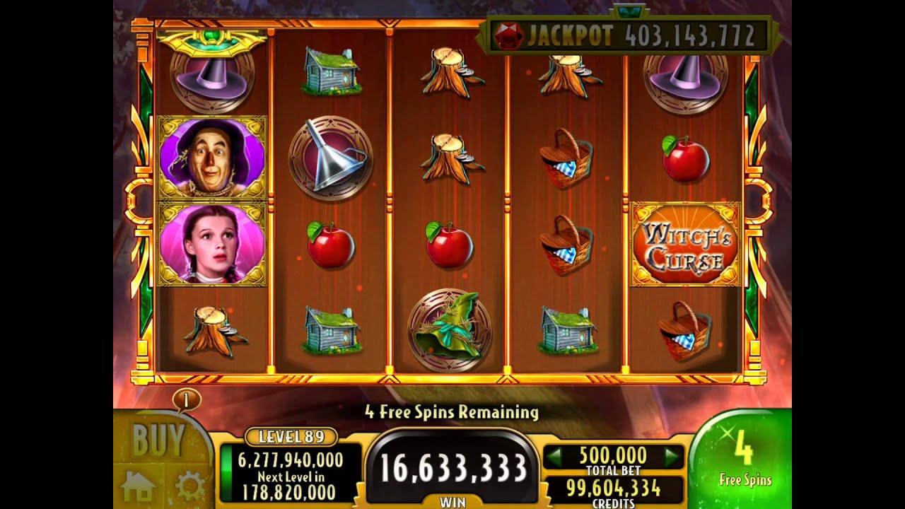 Free casino slot games wizard of oz free casino slot play online