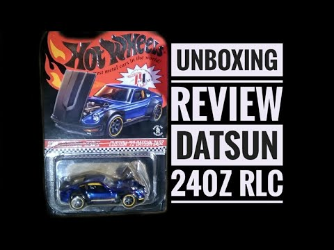 REVIEW Custom '72 Datsun 240Z RLC #UNBOXING Dagelan
