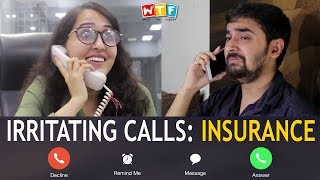 IRRITATING CALLS : INSURANCE | WTF | WHAT THE F...