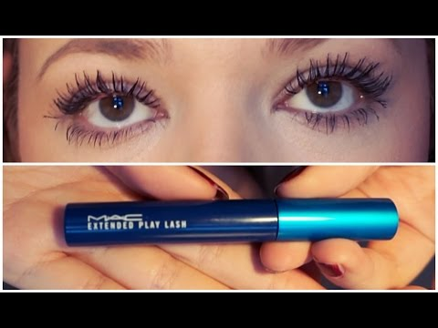 b64c07e1f63 MAC Extended Play Lash Mascara! First Impression And 12hr Wear! - YouTube