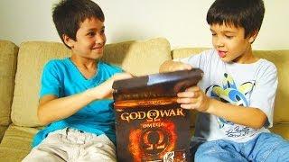 UNBOX: God of War Omega Collection - Presente de Natal - com Bruno e Felipe