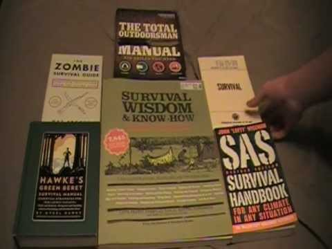 SHTF Survival Books
