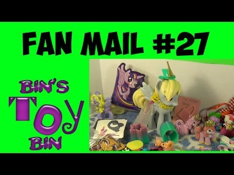 FAN MAIL FRIDAY #27: It's Somebody's Birthday! by Bin's Toy