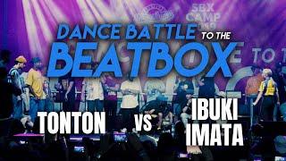 Tonton vs Ibuki Imata   Beatbox: Fredy Beats & MB14   Dance Battle to the Beatbox 2019   1/4