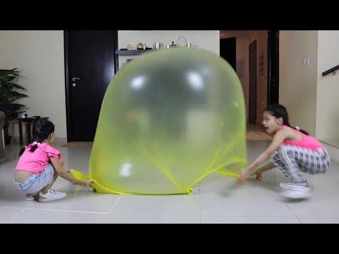 اكبر بالون سلايم !!! ريان جوا البالون😱