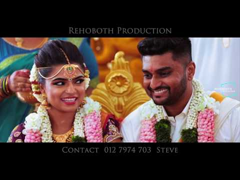 A Beautiful Malaysian Indian Wedding teaser of Jeevan ❤️ Sarulathi by REHOBOTH PRODUCTION
