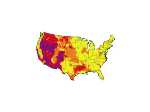US Geothermal Potential Map Video