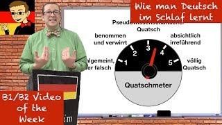 How to Learn German While You Sleep - Learn Intermediate German for B1/B2 #42 - Deutsch lernen