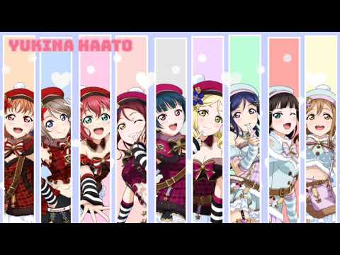 Jump Up HIGH!! | Aqours (color Coded) [PREVIEW]