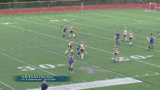 Acton Boxborough Field Hockey vs Danvers  11/2/16
