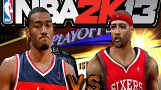 NBA 2K13 MyCareer: 50pts My Best SG Ever | Playoffs R1 Game 3