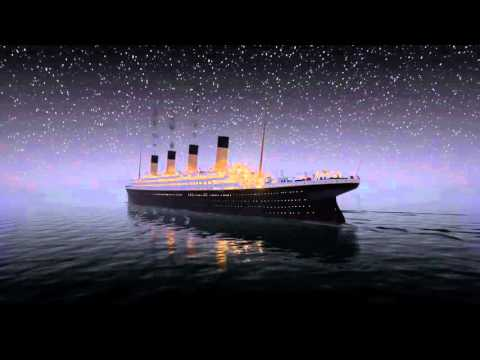 Titanic sinks in REAL TIM 2 HOURS 40 MINUTES | Титаник тонет
