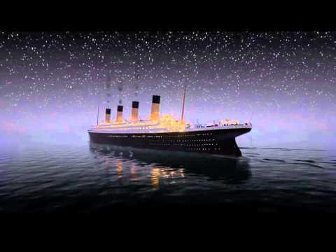 Titanic Sinks In REAL TIM 2 HOURS 40 MINUTES | Титаник тонет в реальном времени.