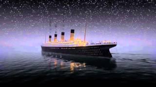Titanic sinks in REAL TIM 2 HOURS 40 MINUTES | Титаник тонет в реальном времени.(В честь 104-й годовщины гибели