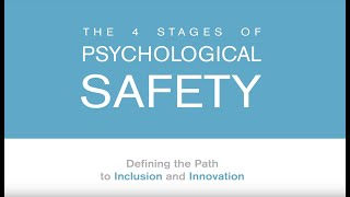 The 4 Stages of Psychological Safety Book Trailer