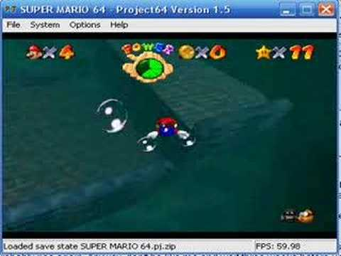 SM64 Star Times Competition - Plunder in the Sunken Ship