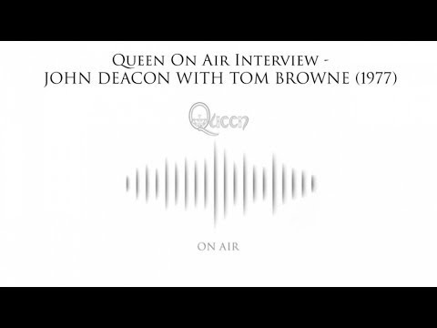 Queen On Air Interview - John Deacon with Tom Browne (1977)