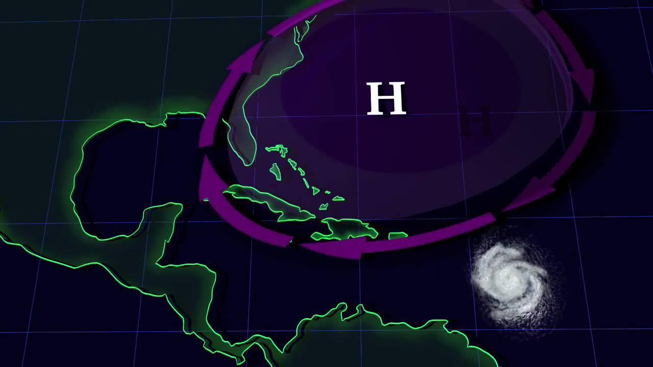 Hurricanes And The Bermuda High [720p] - YouTube