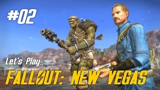 Let's Play Fallout: New Vegas - 02 - Super-Mutant Housekeeping