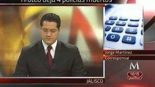 Reportan 4 muertos tras enfrentamiento en Ayotlán, Jalisco