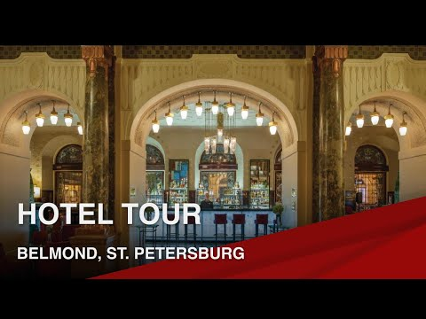 Tour of the Grand Hotel Europe in St Petersburg