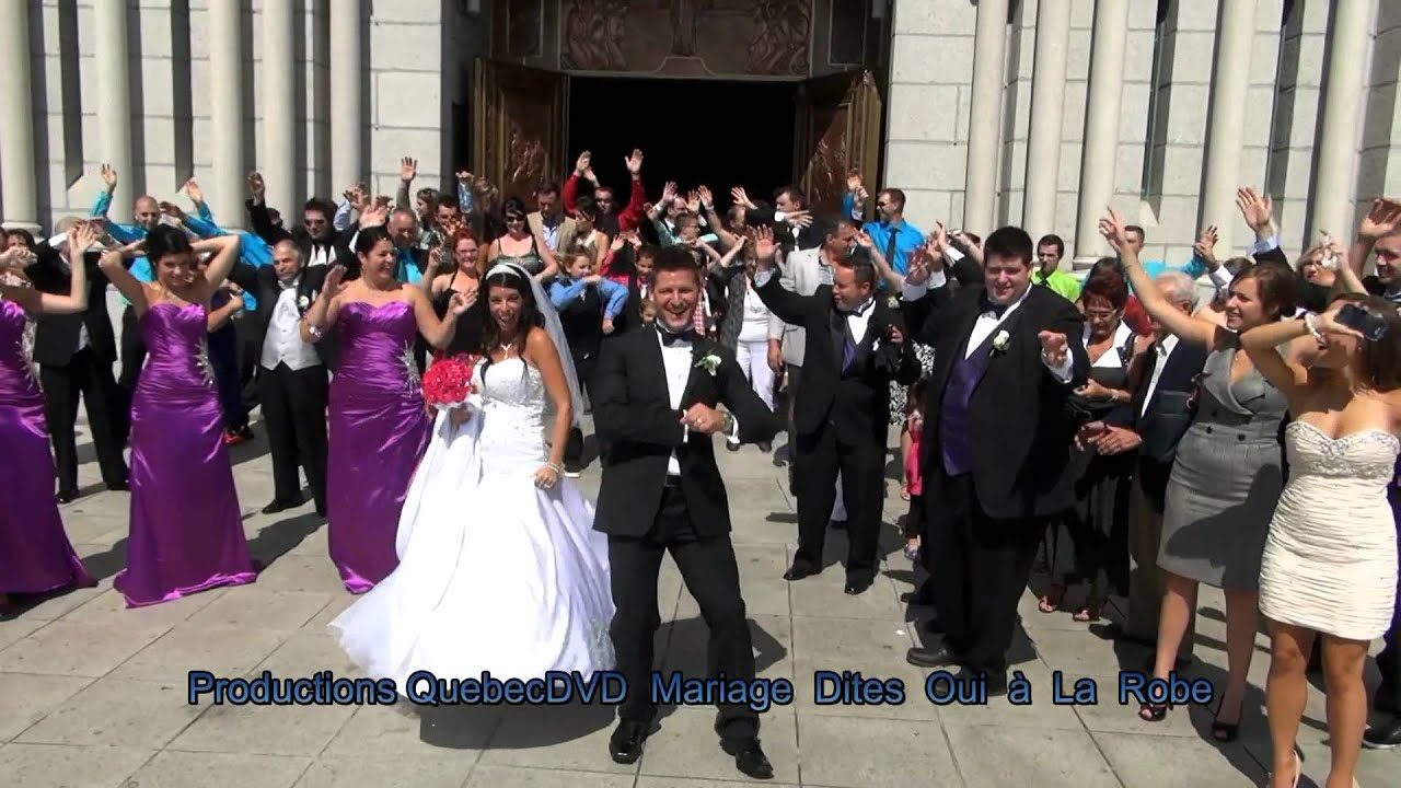 lip dub mariage quebec wedding dance fanny ric - Lipdub Mariage