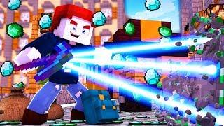 LASER DIAMANTEN! WIR SIND REICH! - Minecraft School #12