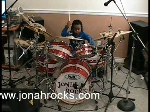 Sweet - Set Me Free, 5 Year Old Drummer, Jonah Rocks